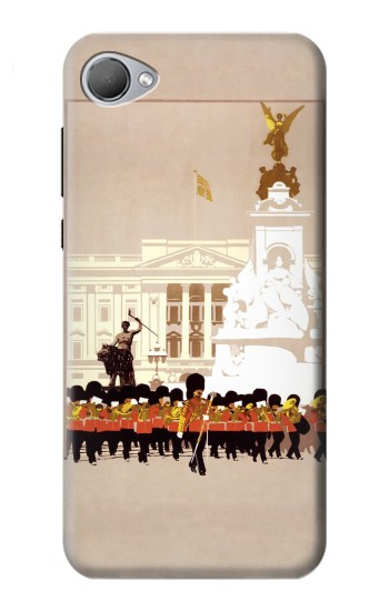 Printed Vintage Travel Brochure London HTC Desire 12 Case