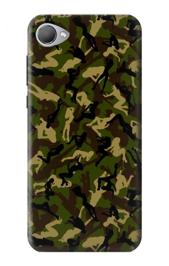 Printed Sexy Girls Camo HTC Desire 12 Case