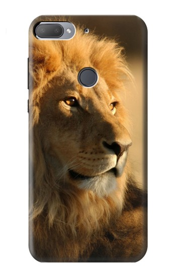 Printed Lion King of Forest HTC Desire 12+ Case