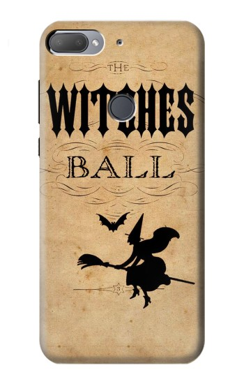 Printed Vintage Halloween The Witches Ball HTC Desire 12+ Case