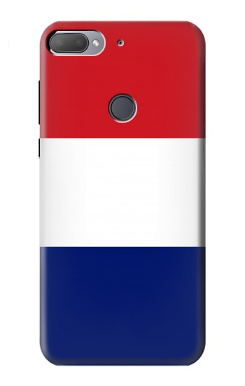 Printed Flag of France and the Netherlands HTC Desire 12+ Case