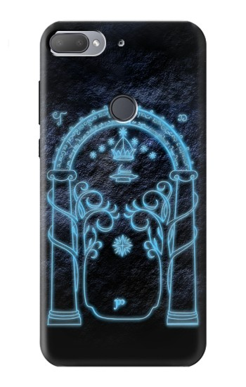 Printed Lord of The Rings Mines of Moria Gate HTC Desire 12+ Case
