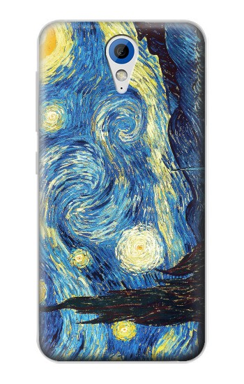 Printed Van Gogh Starry Nights HTC Desire 620 Case