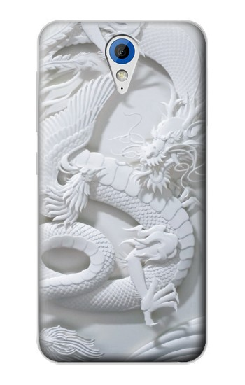 Printed Dragon Carving HTC Desire 620 Case