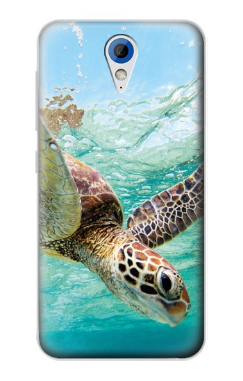 Printed Ocean Sea Turtle HTC Desire 620 Case