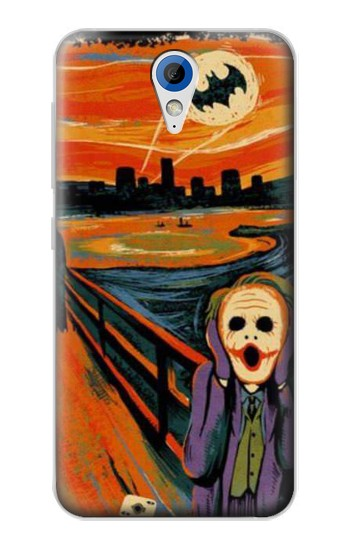 Printed Scream Joker Batman HTC Desire 620 Case