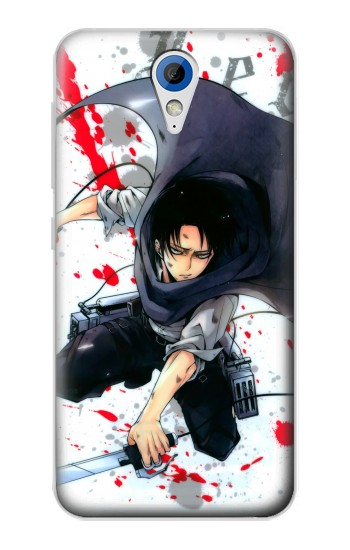 Printed Attack on Titan Rivaille Levi HTC Desire 620 Case