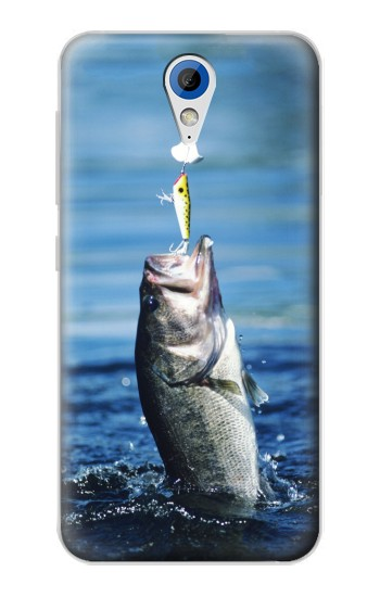 Printed Bass Fishing HTC Desire 620 Case
