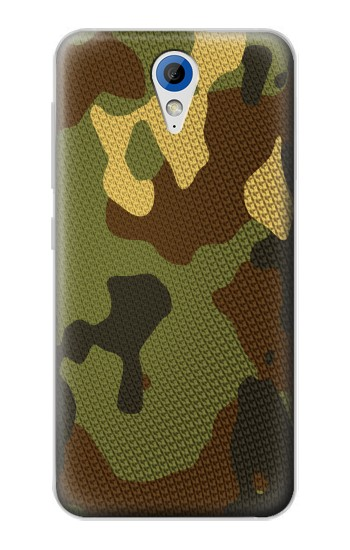 Printed Camo Camouflage Graphic Printed HTC Desire 620 Case