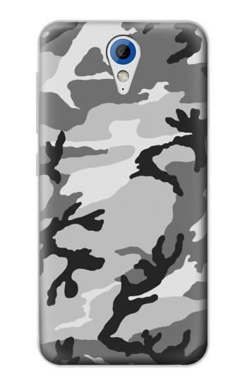 Printed Snow Camo Camouflage Graphic Printed HTC Desire 620 Case