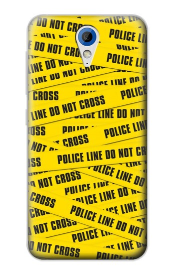 Printed Police Line Do Not Cross HTC Desire 620 Case
