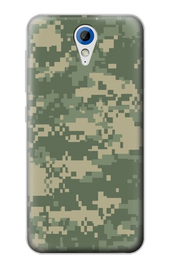 Printed Digital Camo Camouflage Graphic Printed HTC Desire 620 Case