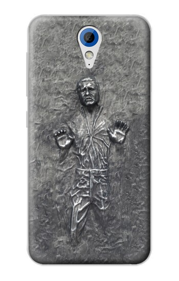 Printed Han Solo in Carbonite HTC Desire 620 Case