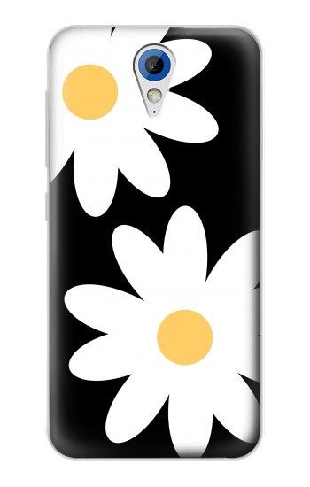 Printed Daisy White Flowers HTC Desire 620 Case