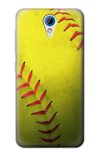 Printed Yellow Softball Ball HTC Desire 620 Case