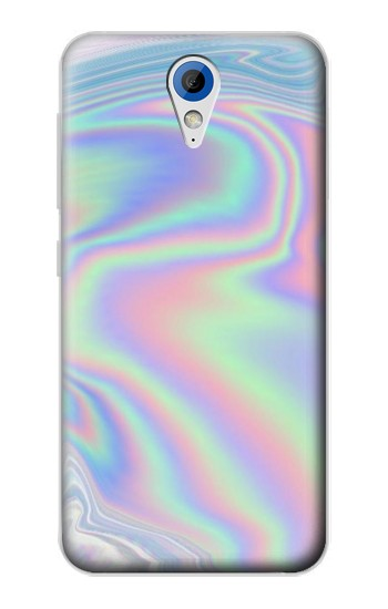 Printed Pastel Holographic Photo Printed HTC Desire 620 Case