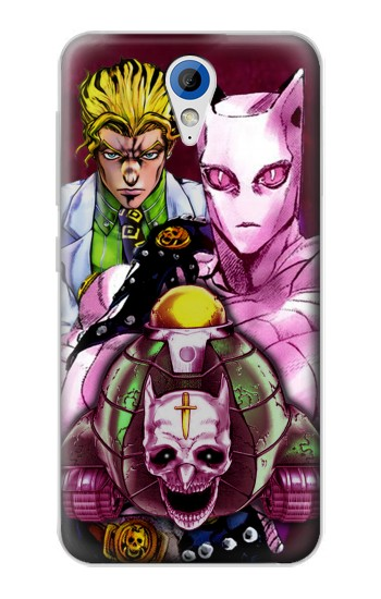 Printed Jojo Bizarre Adventure Kira Yoshikage Killer Queen HTC Desire 620 Case