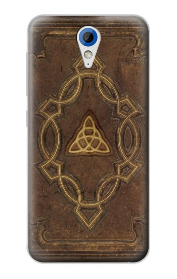 Printed Spell Book Cover HTC Desire 620 Case