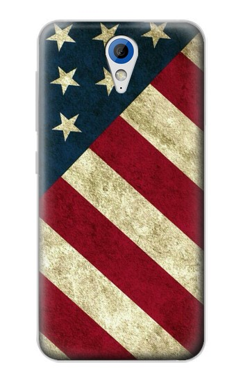 Printed US National Flag HTC Desire 620 Case