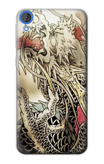 Printed Yakuza Tattoo HTC Desire 820 Case