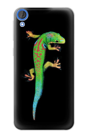 Printed Green Madagascan Gecko HTC Desire 820 Case