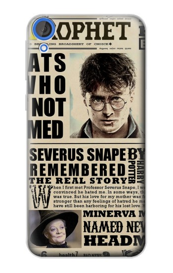 Printed Harry Potter Daily Prophet HTC Desire 820 Case