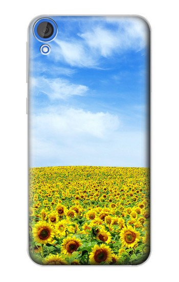 Printed Sunflower HTC Desire 820 Case