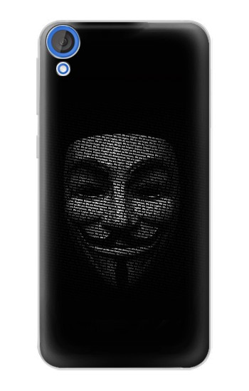 Printed Anonymous mask HTC Desire 820 Case