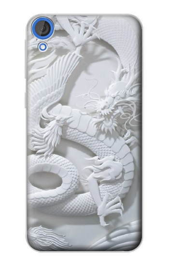 Printed Dragon Carving HTC Desire 820 Case