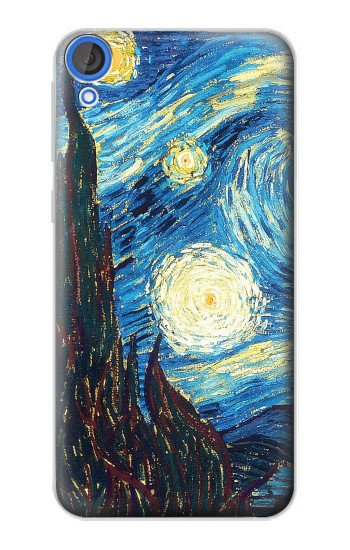 Printed Van Gogh Starry Nights HTC Desire 820 Case