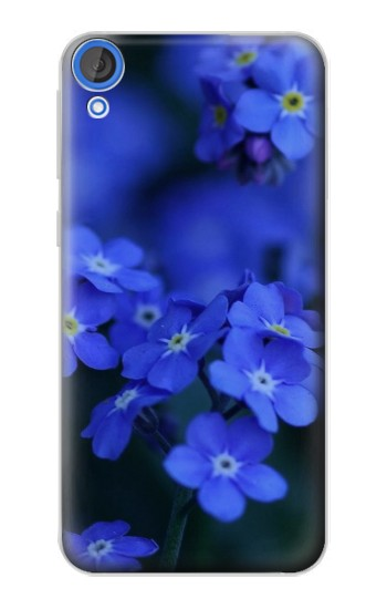 Printed Forget me not HTC Desire 820 Case