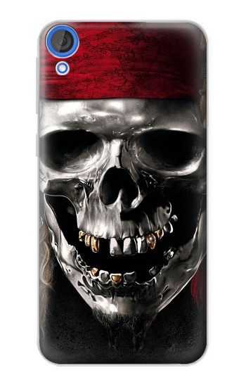 Printed Pirate Skull HTC Desire 820 Case