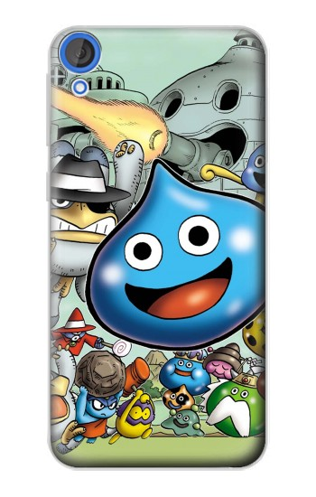 Printed Dragon Quest Slime Monster HTC Desire 820 Case