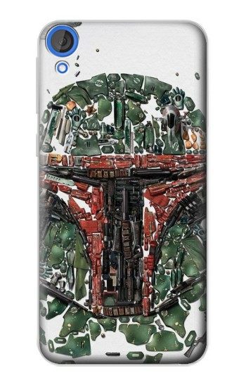 Printed Star War Soldier HTC Desire 820 Case