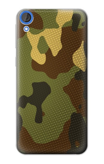 Printed Camo Camouflage Graphic Printed HTC Desire 820 Case