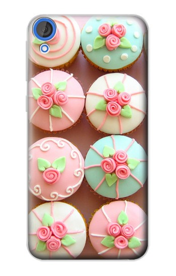 Printed Yummy Cupcakes HTC Desire 820 Case