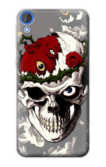 Printed Berserk Skull Beherit Egg Tattoo HTC Desire 820 Case