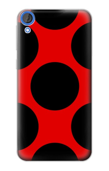 Printed Lady bug Dot Pattern HTC Desire 820 Case
