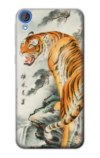 Printed Chinese Tiger Painting HTC Desire 820 Case
