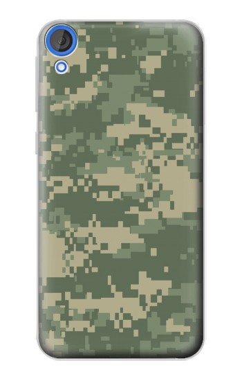 Printed Digital Camo Camouflage Graphic Printed HTC Desire 820 Case