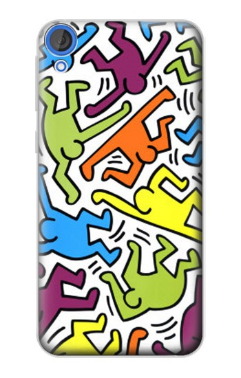 Printed Keith Haring HTC Desire 820 Case