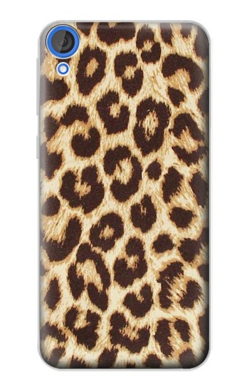 Printed Leopard Pattern Graphic Printed HTC Desire 820 Case