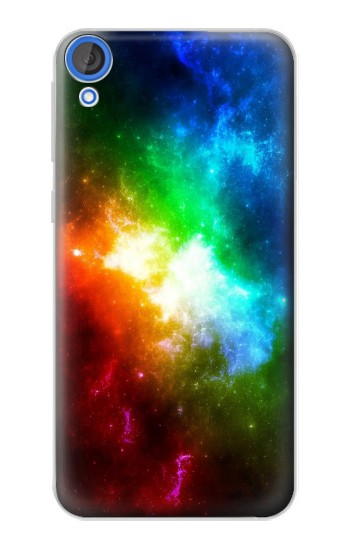 Printed Colorful Rainbow Space Galaxy HTC Desire 820 Case
