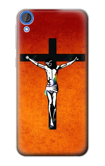 Printed Jesus Christ On The Cross HTC Desire 820 Case