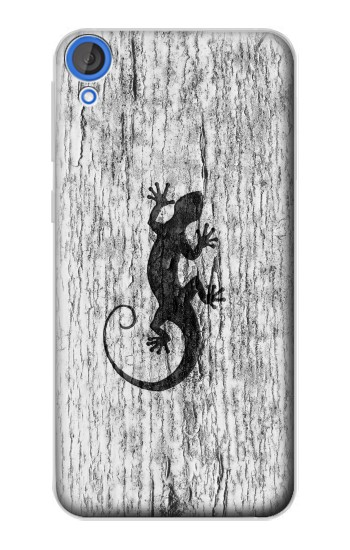 Printed Gecko Wood Graphics Printed HTC Desire 820 Case