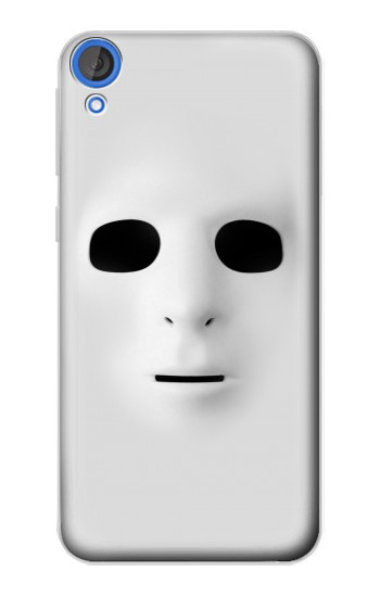 Printed White Face Mask HTC Desire 820 Case