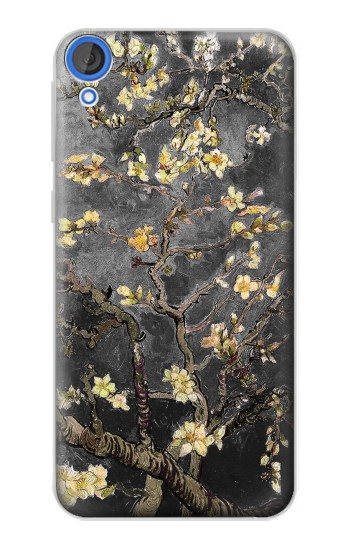 Printed Black Blossoming Almond Tree Van Gogh HTC Desire 820 Case