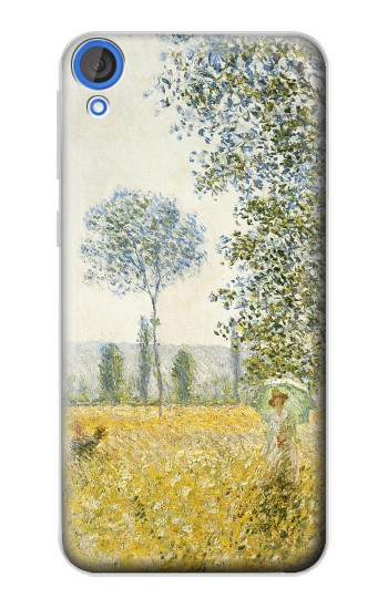 Printed Claude Monet Fields In Spring HTC Desire 820 Case