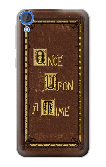 Printed Once Upon a Time Book Cover HTC Desire 820 Case