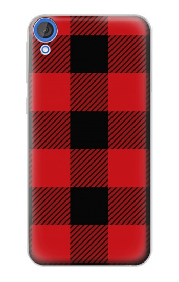 Printed Red Buffalo Check Pattern HTC Desire 820 Case